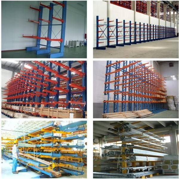 Prefabricated Storage equipment cantilever arm rack of light duty