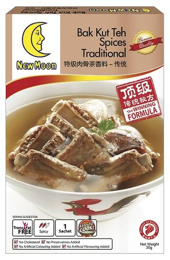 NEW MOON Bak Kut Teh Spices Traditional