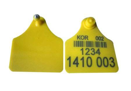 Cow ear tag 73×65mm