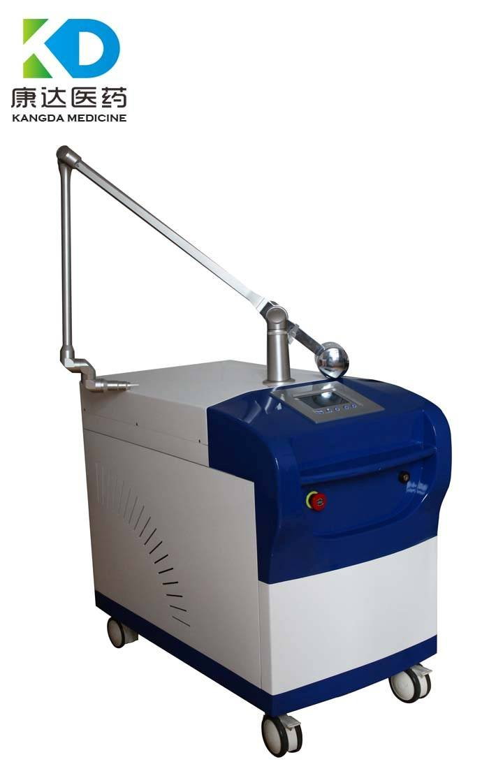Q Switch ND YAG laser for all colorized tattoo removal & pigmentation removal machine