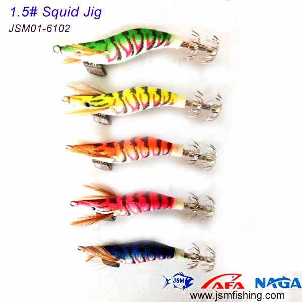 wholesale small size plastic japanese squid jigs 1.5