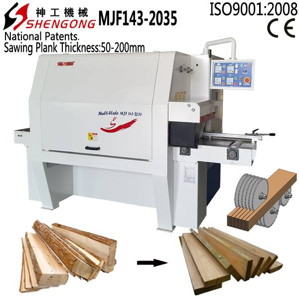 timber sawing machine