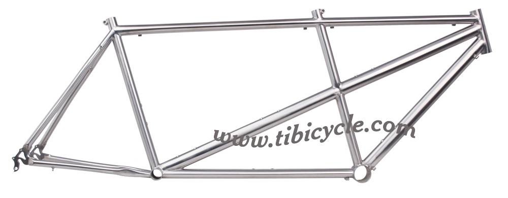 Tandem Titanium Bicycle Frame HLT001
