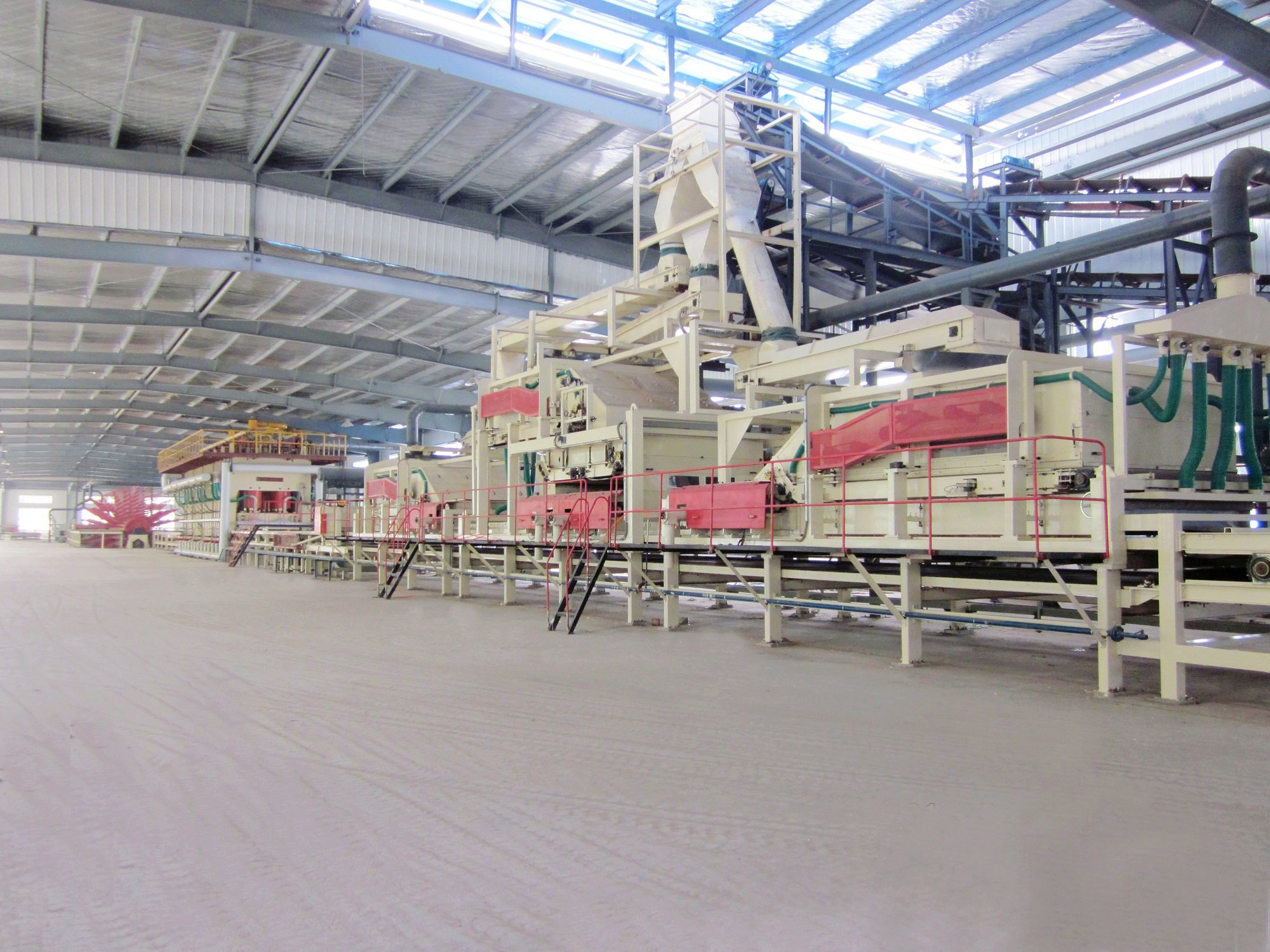 OSB (Oriented Strand Board) Production Line