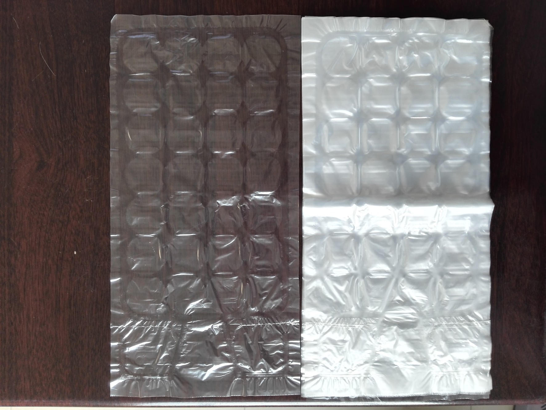 HDPE/LDPE ice cube bags, plastic ice cube bags