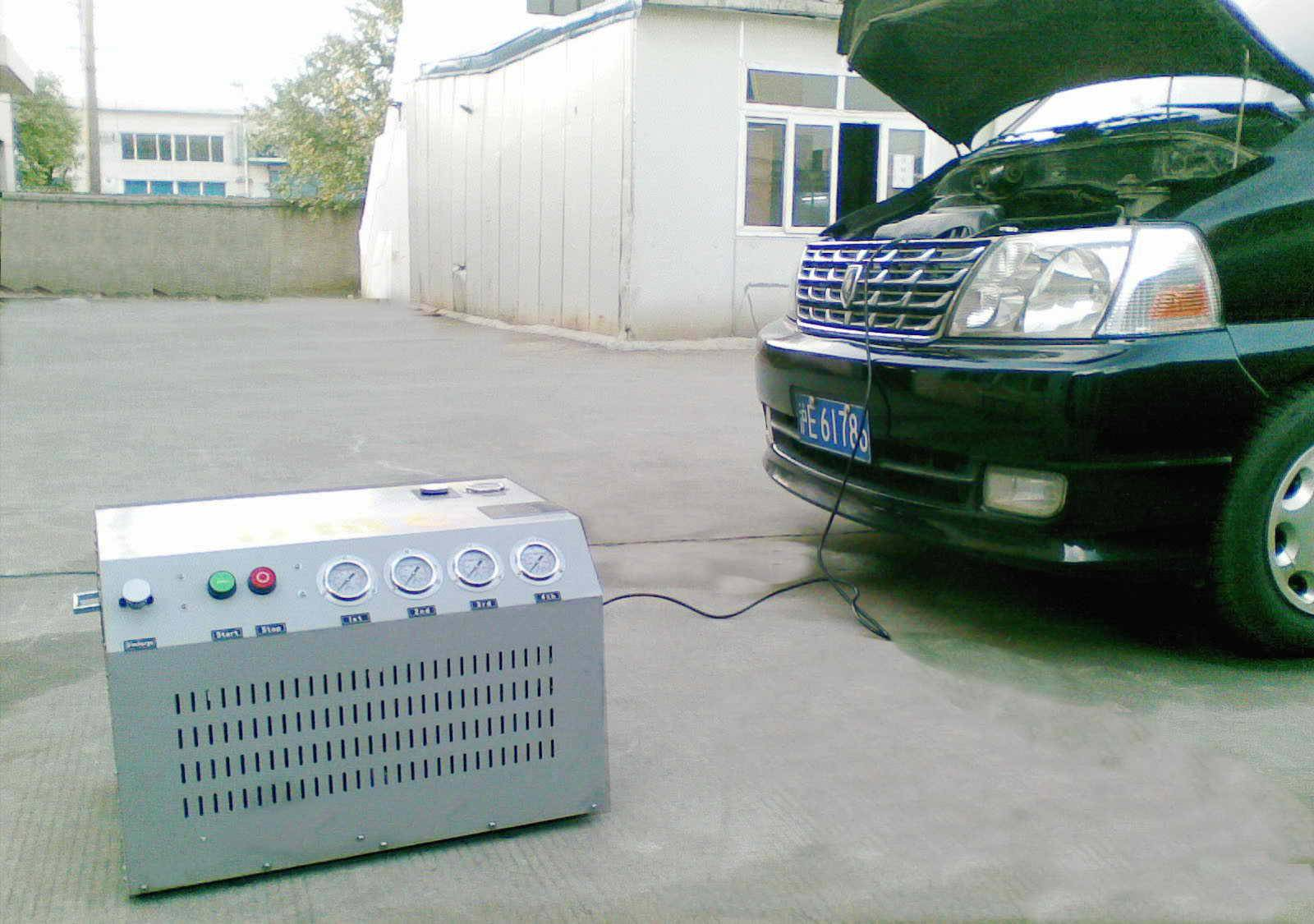 small CNG compressor for car (5-6Nm3/hr,200bar)