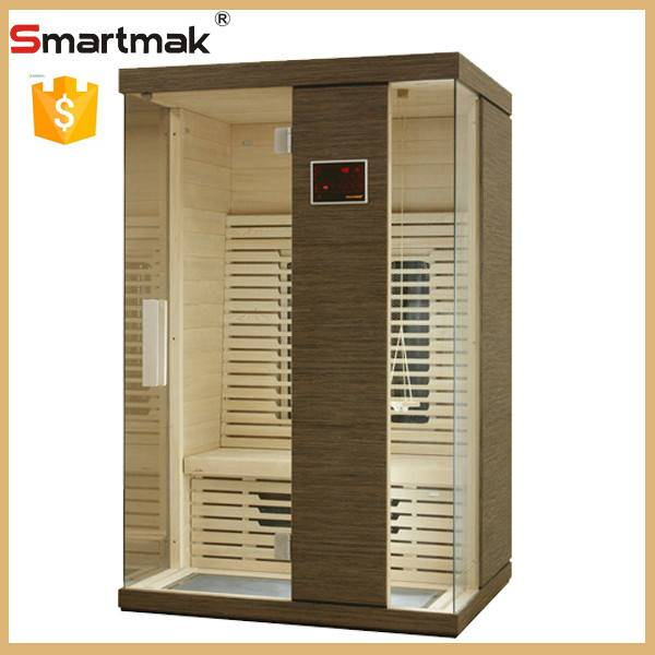 sauna equipment&far infrared sauna with hot selling design two person