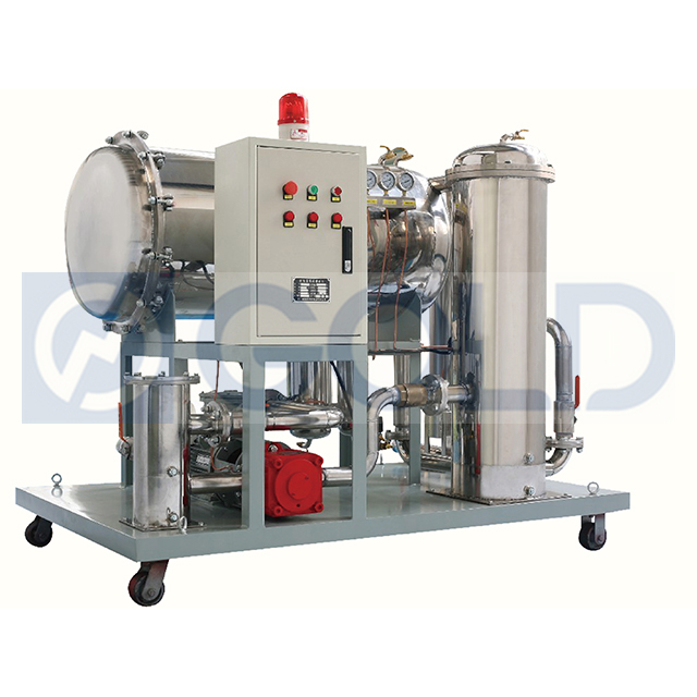 JT Coalescing Dehydration Oil Recycling Machine