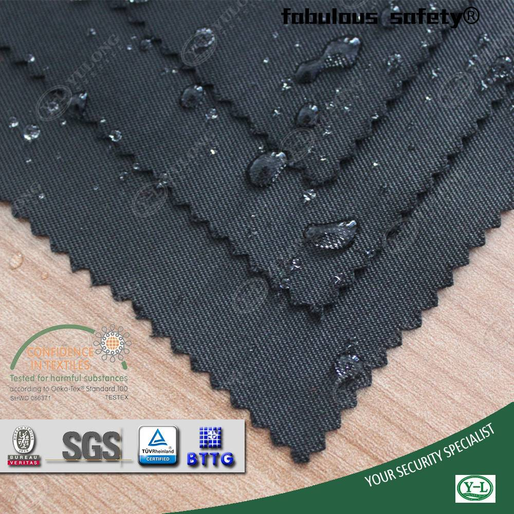 T/C water oil repellent fabric with 4-5 Grade Color Fastness for industrial garments