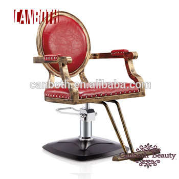 Wood classic antique barber chair/ vintage style styling chair CB- BC010