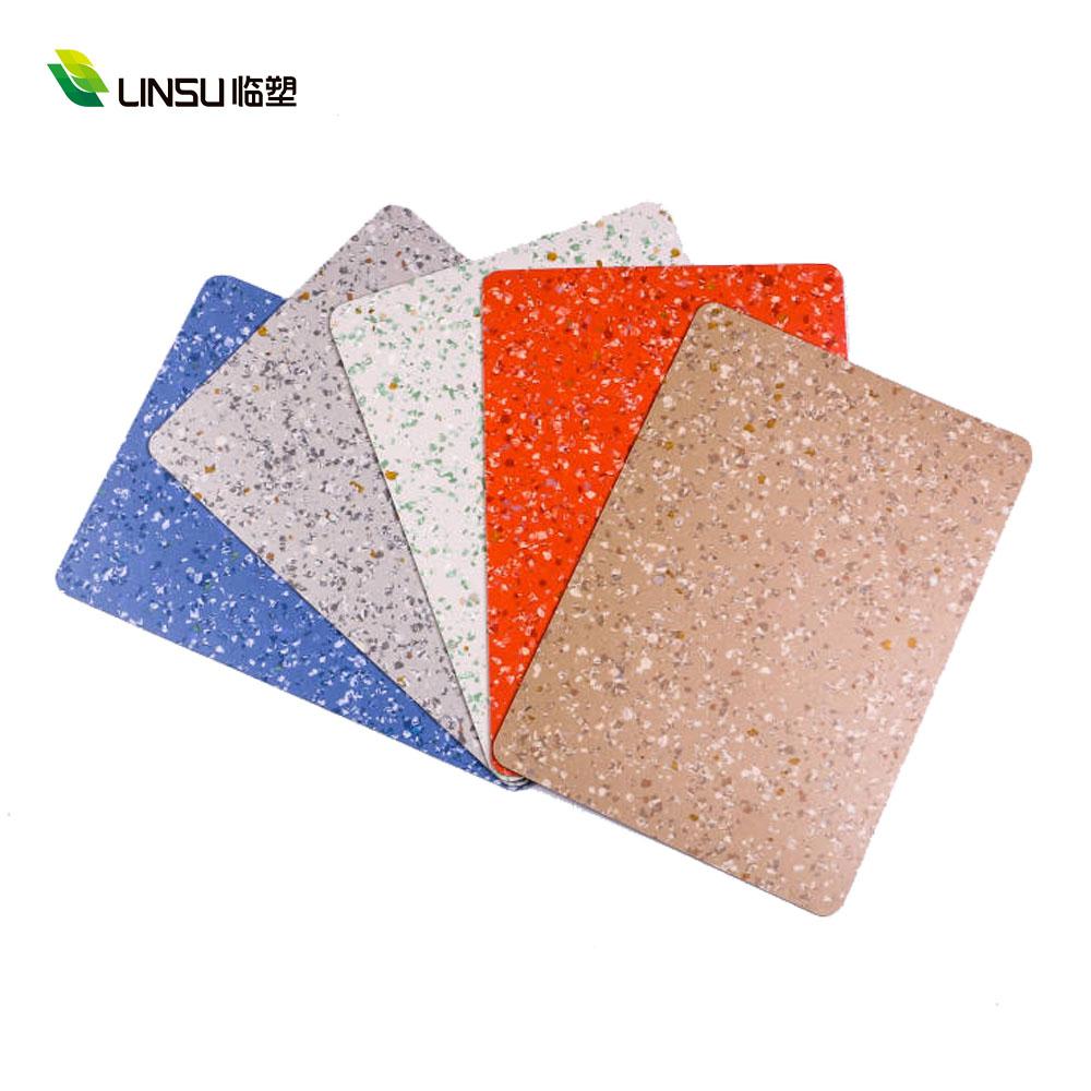 2mm Anti-bacterial Hospital Homogeneous Heterogeneous PVC Vinyl Flooring 3 vinyl floor installation