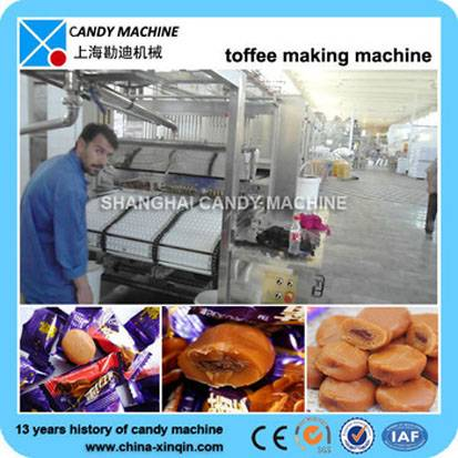 High quality toffee candy machine maker