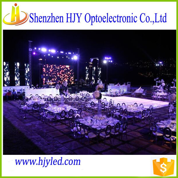 Shenzhen P3 videos indoor Stage HD led large screen display manufacturers