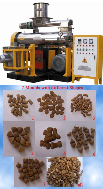 multifunctional pet food inflating extruder 0086 15670637851
