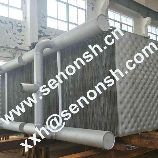 Plate type falling film evaporator