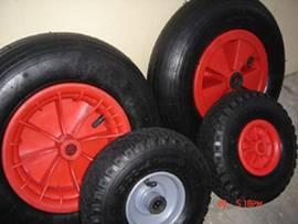 pneumatic rubber wheel 14X350-8