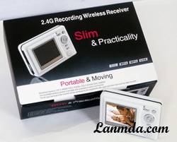 Wireless AV Recorder With 512Mb Flash Memory (LM-2505 )
