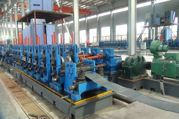 165 HF steel tube welding machine