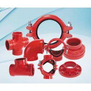 Ductile Iron Rigid Coupling With FM/UL/CE/3C Approved
