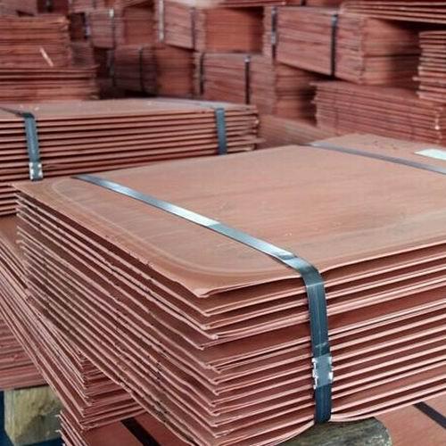 Copper Cathodes, Copper Sheets, Copper Plates.
