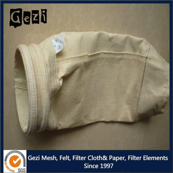 Gezi polyester felt bag for air filtration