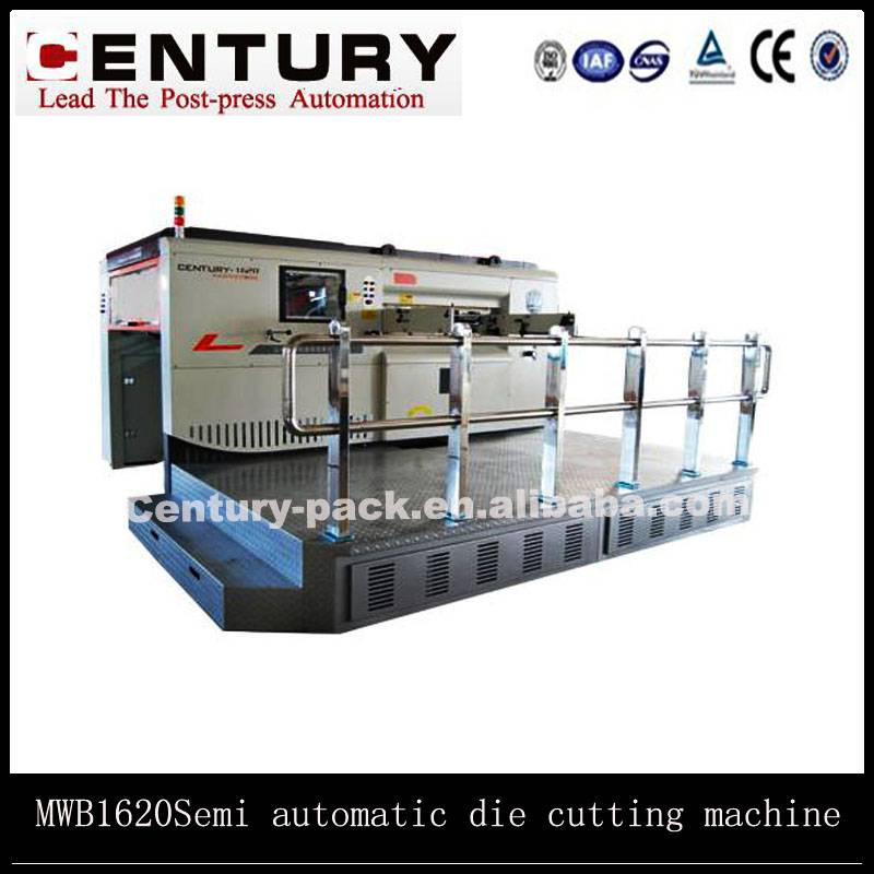 The semi automatic manual die cutting machine for sales
