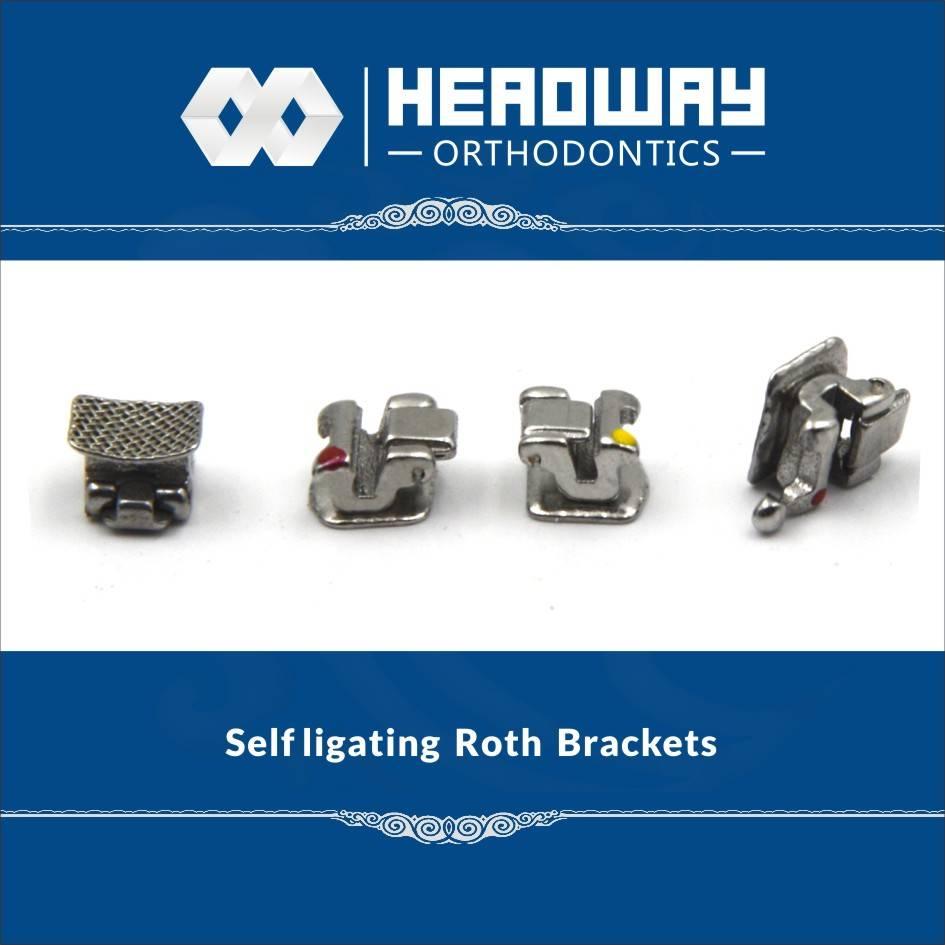 Headway MBT Self Ligating Orthodontic Bracket