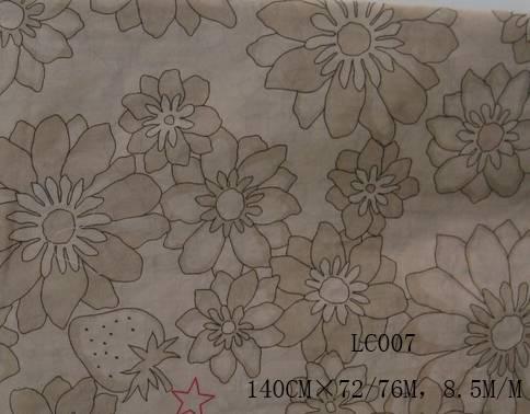 silk/cotton fabric:LC007