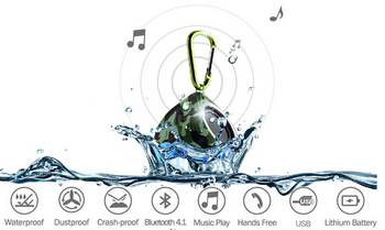 2015 hot selling waterproof Bluetooth speaker
