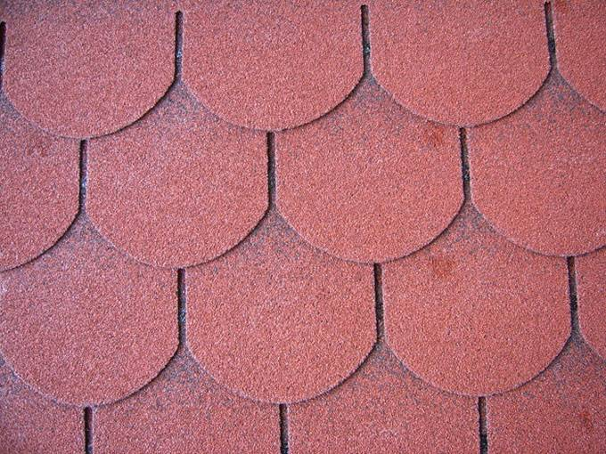 Fish scale new material asphalt shingles for roofing tiles