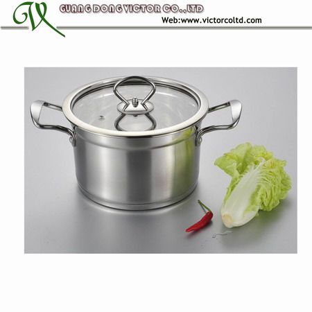 Stainless steel Sauce Pot 18, 20, 22,24,26cm