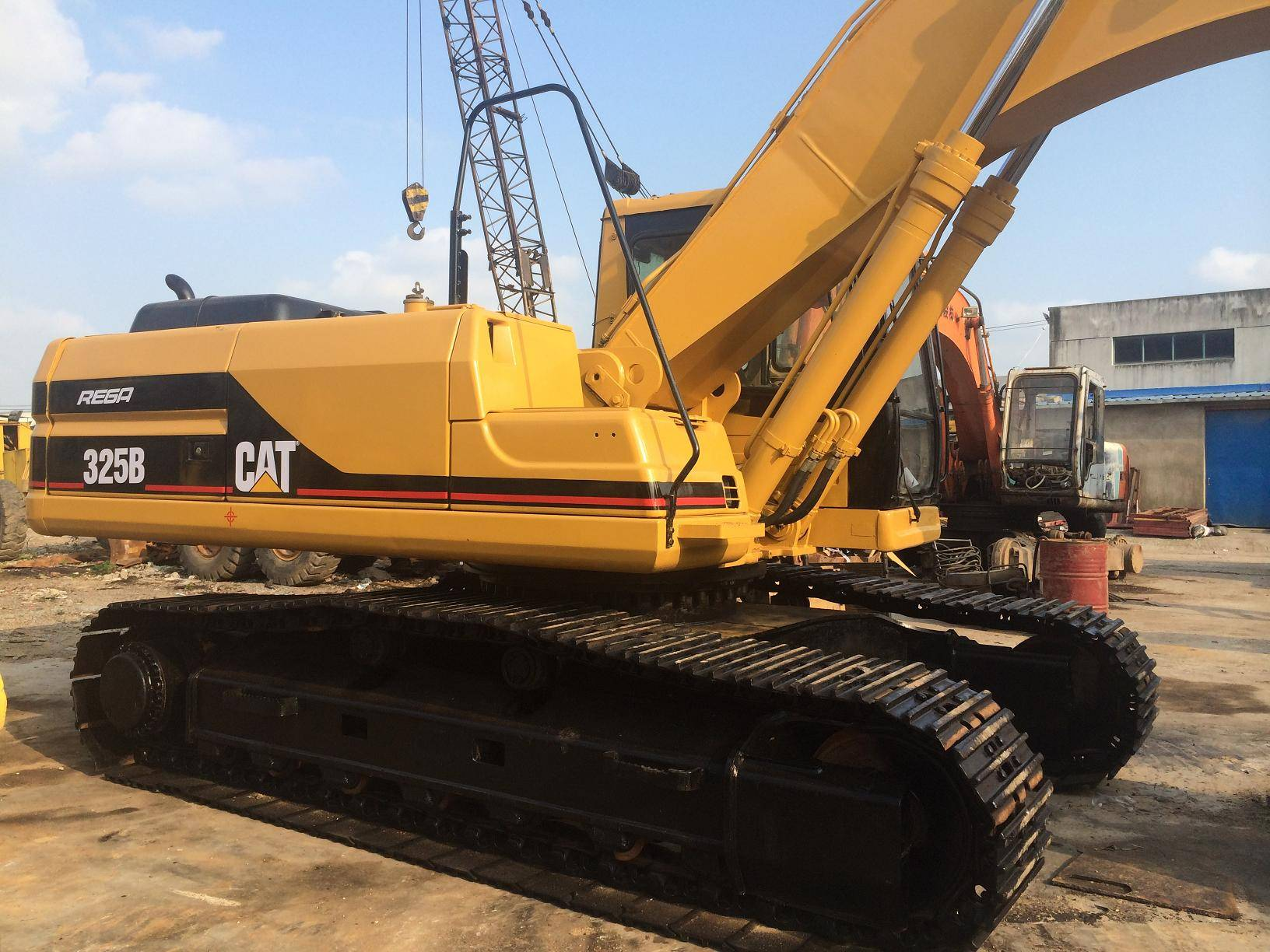 Japan origin used caterpillar 325BL excavator for sale/cheap cat excavator