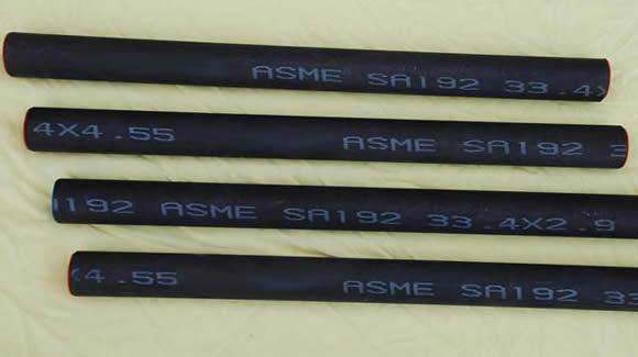 ASTM A192 superheater tubes