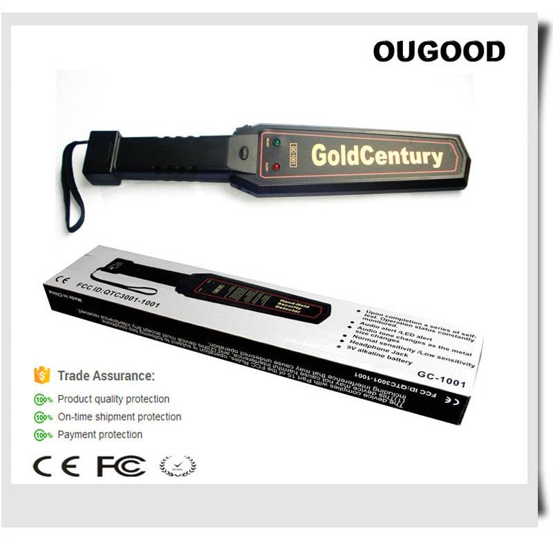 Gold Century hand held metal detectors for courtroom or bars