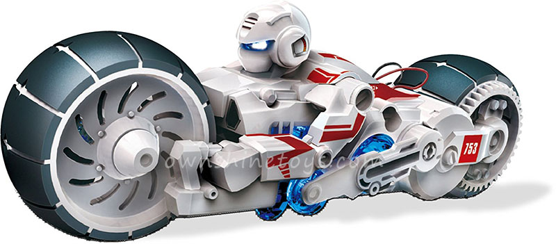 science salt water fuel motorcycle toy