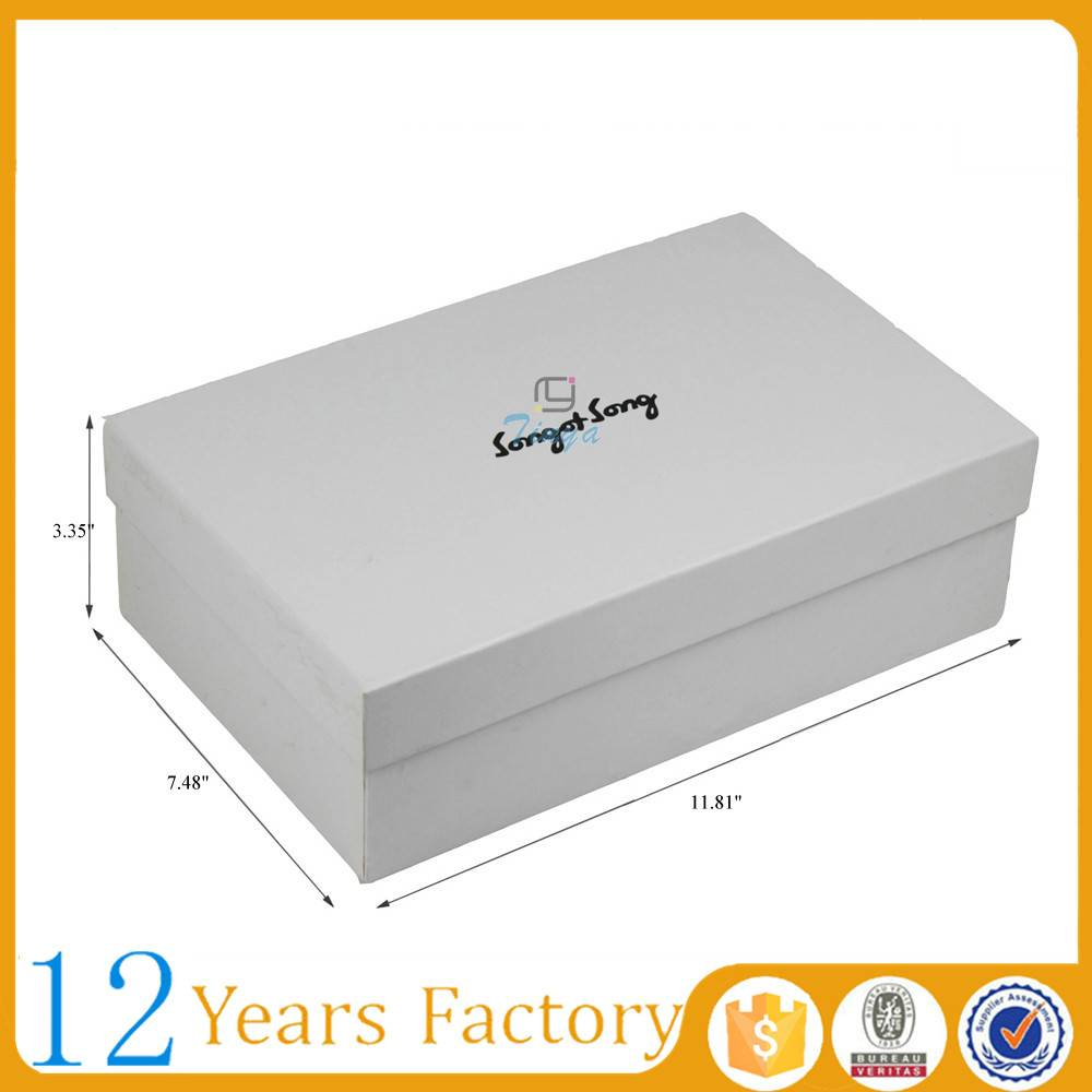 cheap plain cardboard shoe boxes with lids