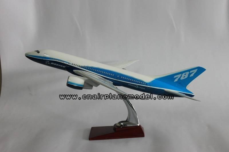 resin aircraft model Boeing787 43cm