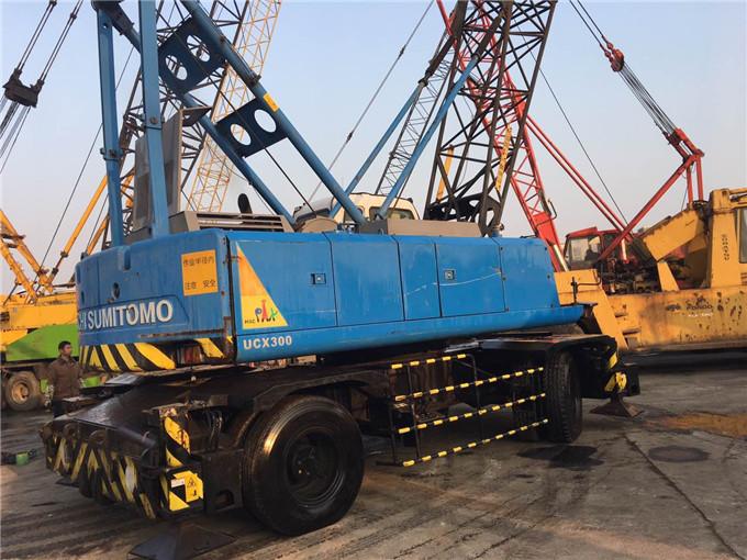 30 Ton Hitachi Sumitomo Used Wheel Crane For Sale