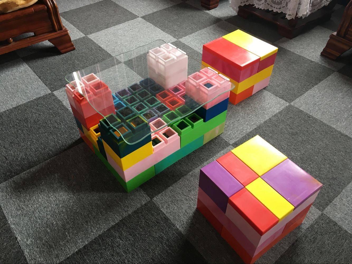 magic block stool