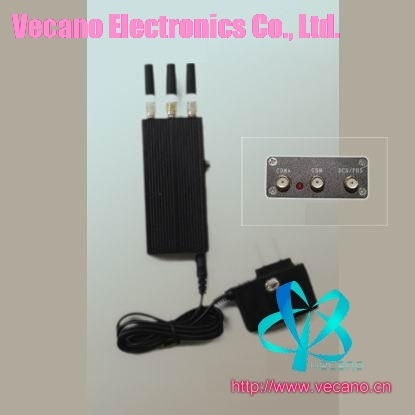 Hand-Held mobile phone jammer