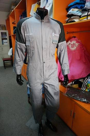 Khaki color high quality cheap coverall Workwear