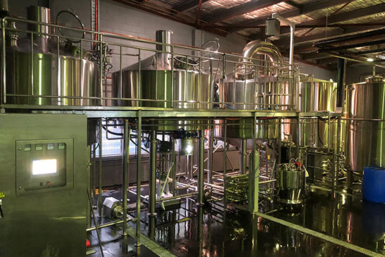 Four Vessel Brewhouse