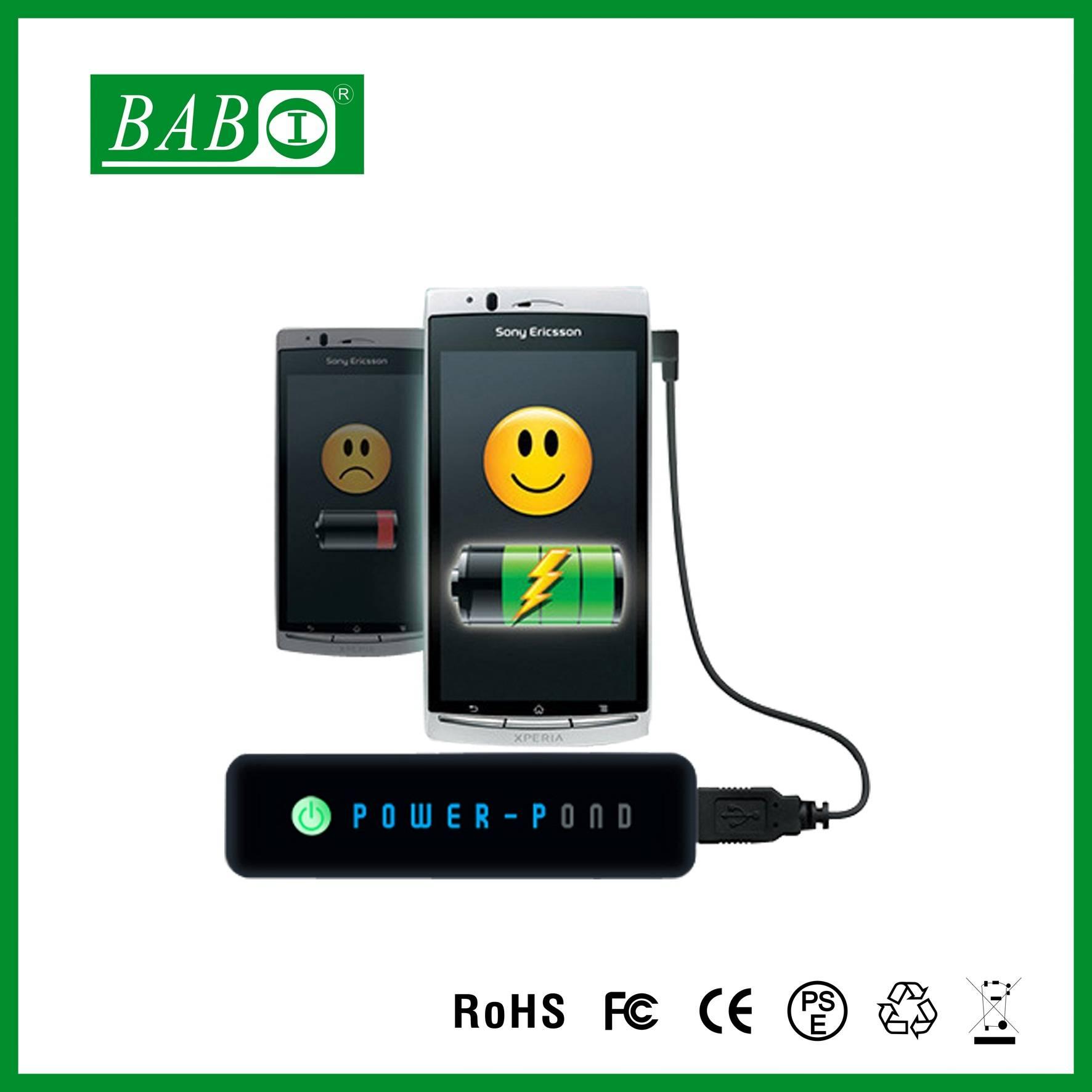 Diy universal power bank 2200mah,power bank for smart phone ,2600mah external battery for iphone 6