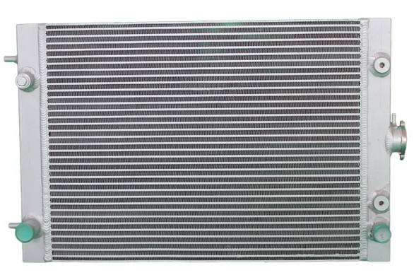 Aluminum Excavator Water Cooler Radiator For Hyundai R60-9