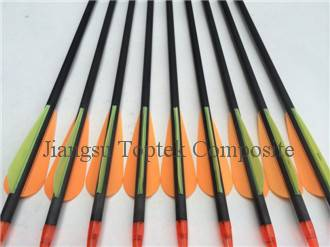 carbon archery arrow, 0.004 straightness carbon fiber arrow