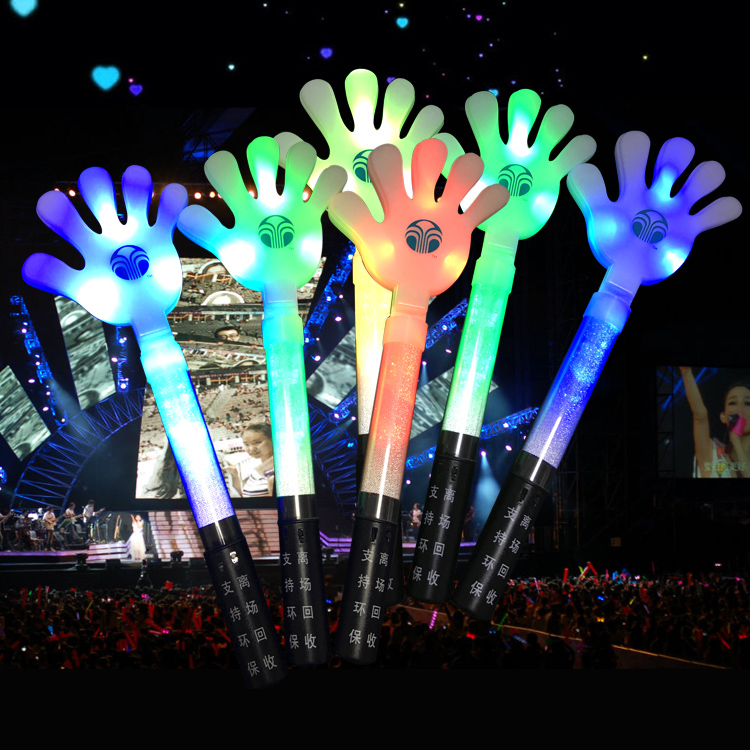 LED Palm Stick for Concerts and Parties Flashing Palm Sticks