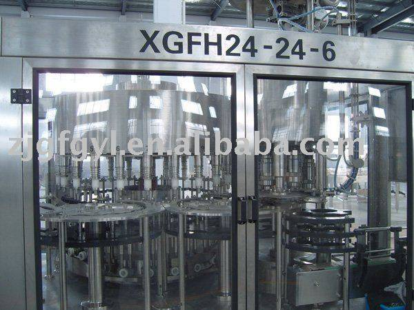 DGCY24-24-6 glass bottle filling machine