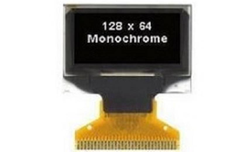 Replace 128x64 OLED of COG LCD for Watch-0.96 inch