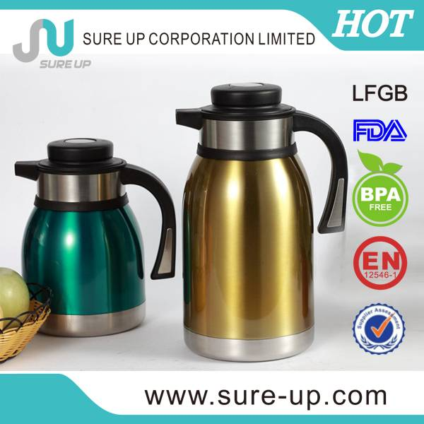 food grade china stainless steel 2.0 l coffee pot (JSBA)
