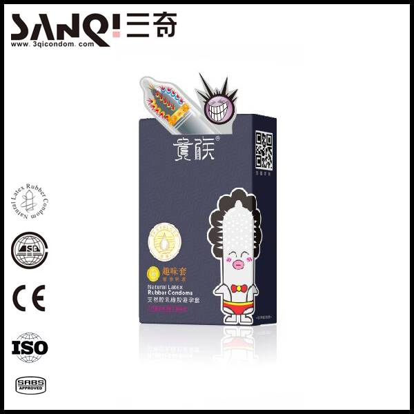 Noble finger condom spike special designed condom